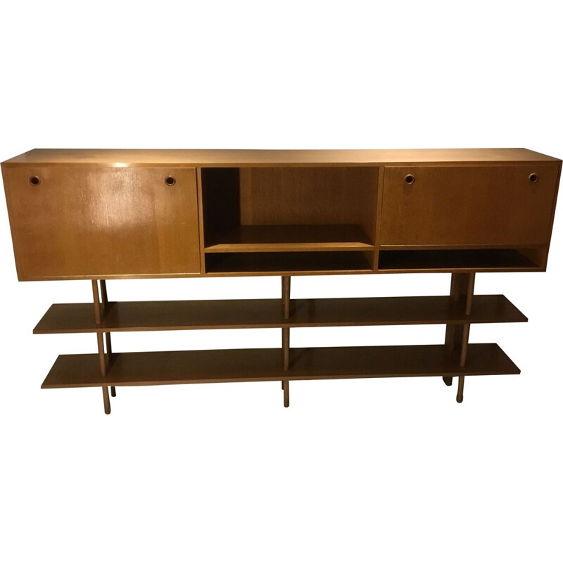 Vintage Cabinet in oak by Alons for De boer