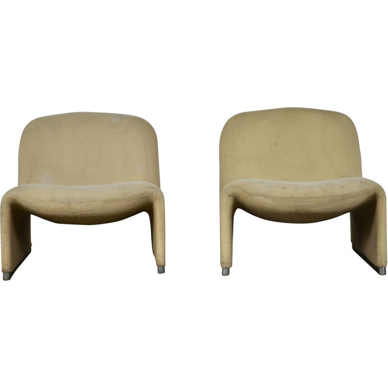 Pair of vintage Alky armchairs by Giancarlo Piretti for Anonima Castelli, 1970