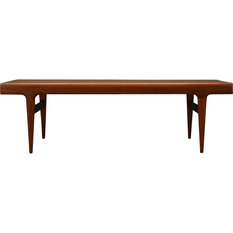 Vintage dining table extendable by Johannes Andersen, 1960-70s