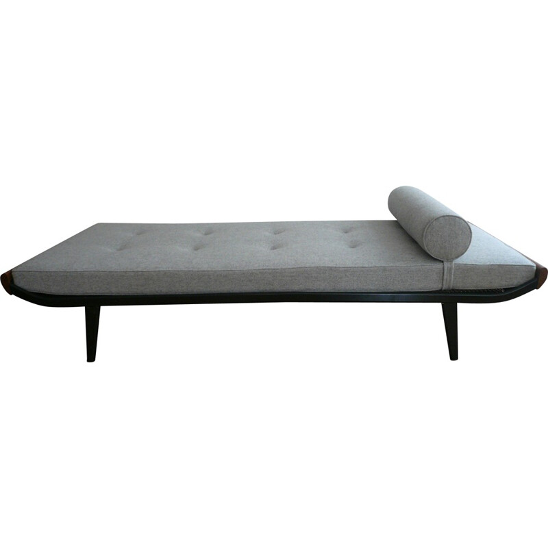 """Auping """"Cleopatra"""" daybed in grey fabric,  Dick CORDEMEIJER - 1960s"""
