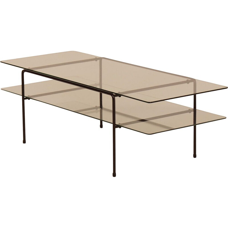 Vintage Glass Coffee Table 3637 by Cordemeyer for Gispen, 1950s