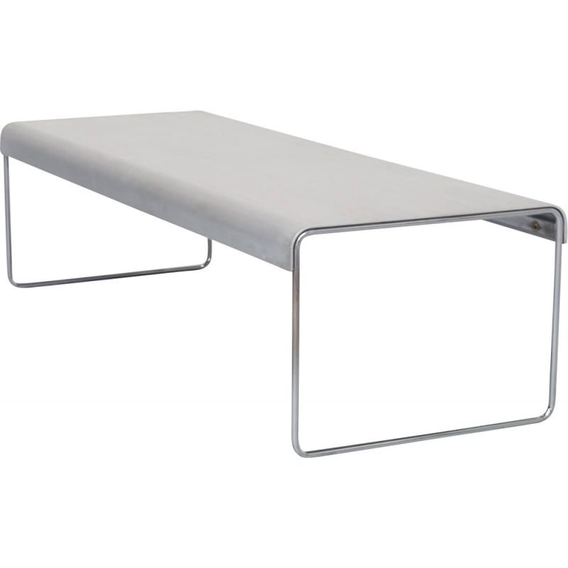 """Vintage white  """"zap254"""" coffee table by Piero Lissoni for Cassina"""