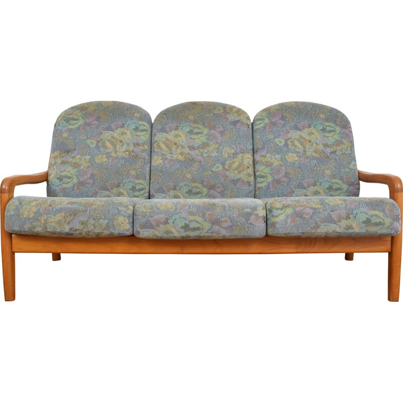 Mid-Century Danish Teak Sofa from Dyrlund, 1970s.