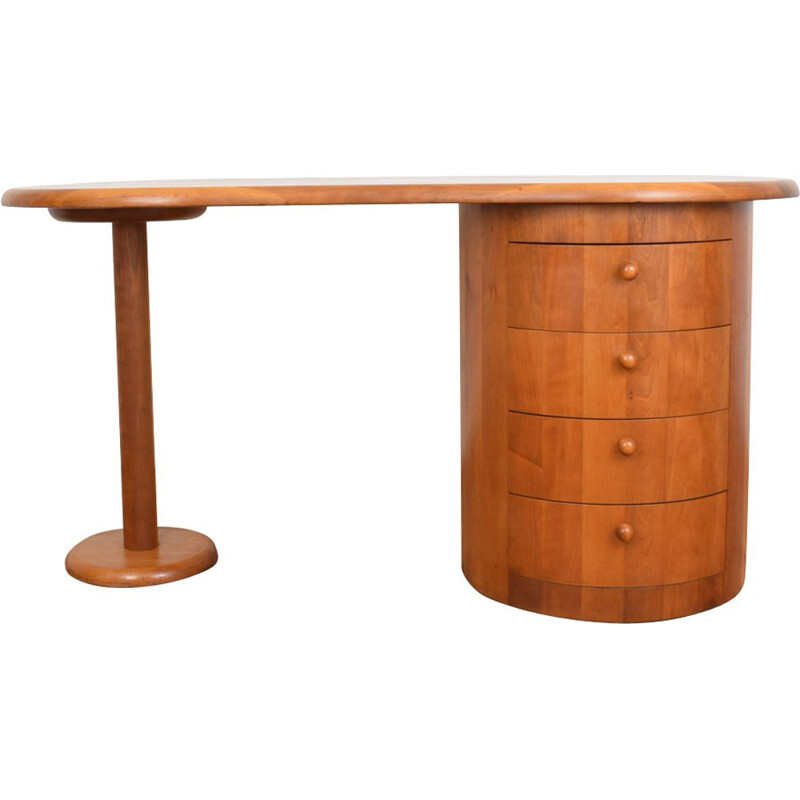 Vintage Danish Teak Desk from CFC Silkeborg, 1970