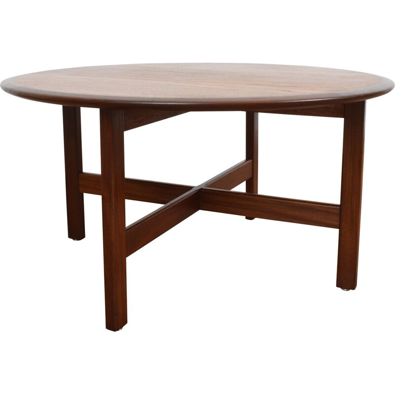 Vintage Danish Teak Coffee Table, 1960s