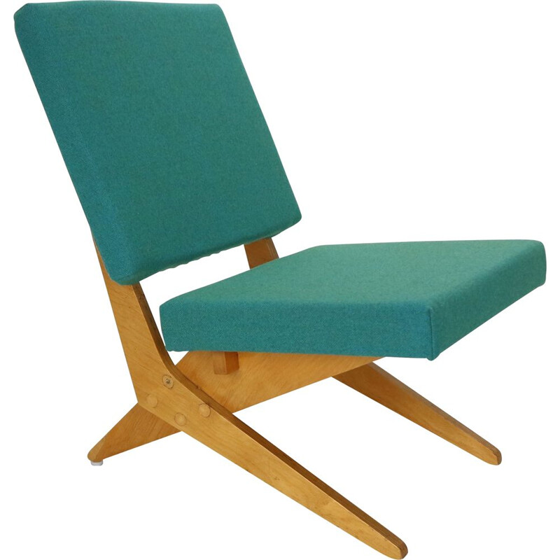 Vintage FB18 Scissor Chair by Jan Van Grunsven for UMS Pastoe, 1955