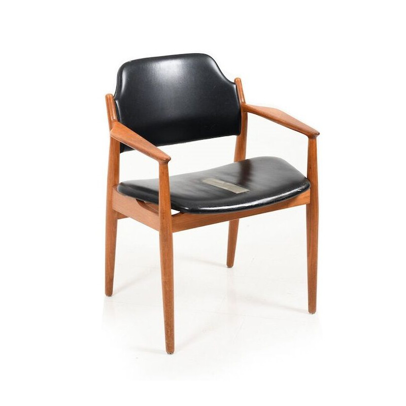 Vintage Danish Teak Armchair by Arne Vodder for Sibast Furniture 1961