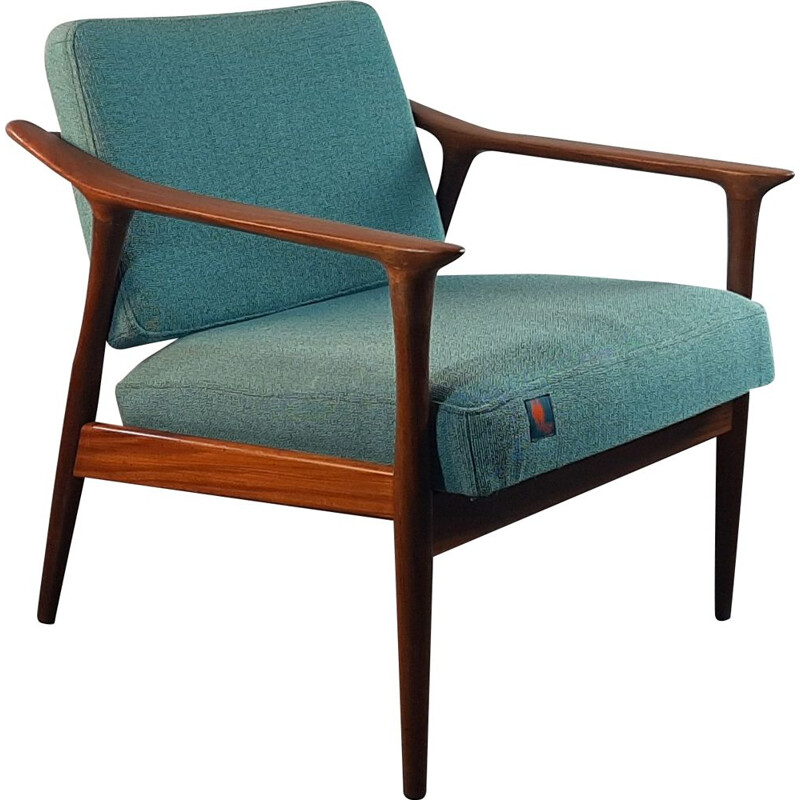 Vintage armchair model TONO Duatek in rosewood, Norway, 1960s