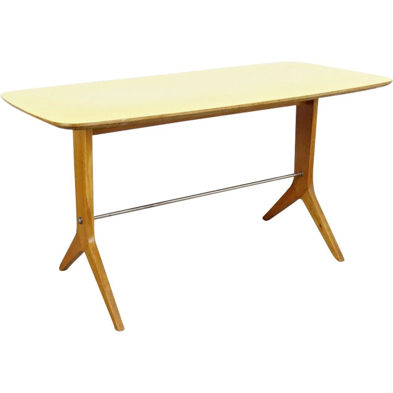 Vintage conference table, Czechoslovakia, 1960s