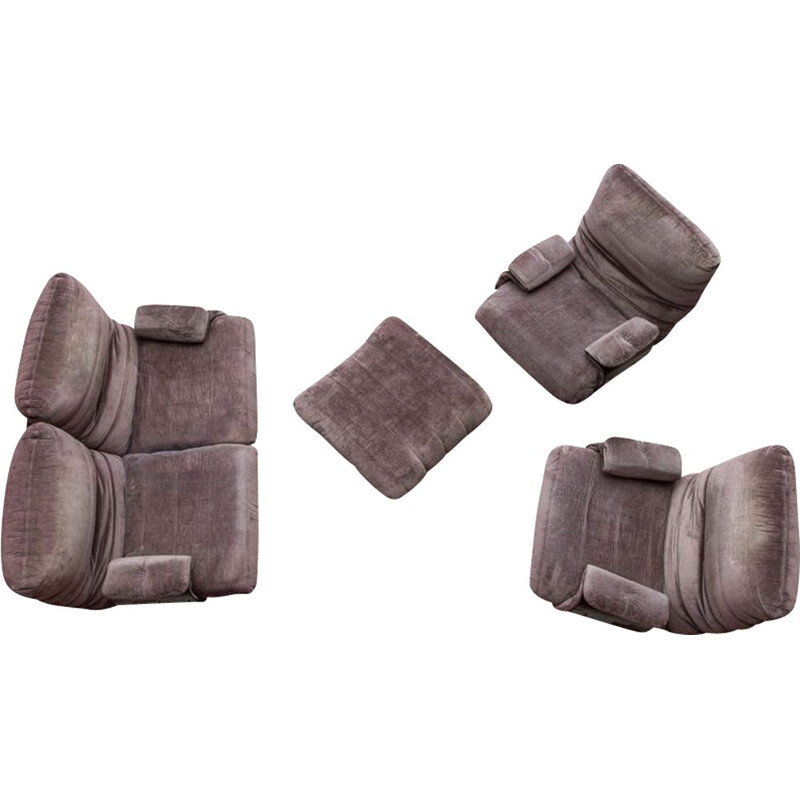 Lounge set Ligne Roset model Marsala Michel Ducaroy 1970