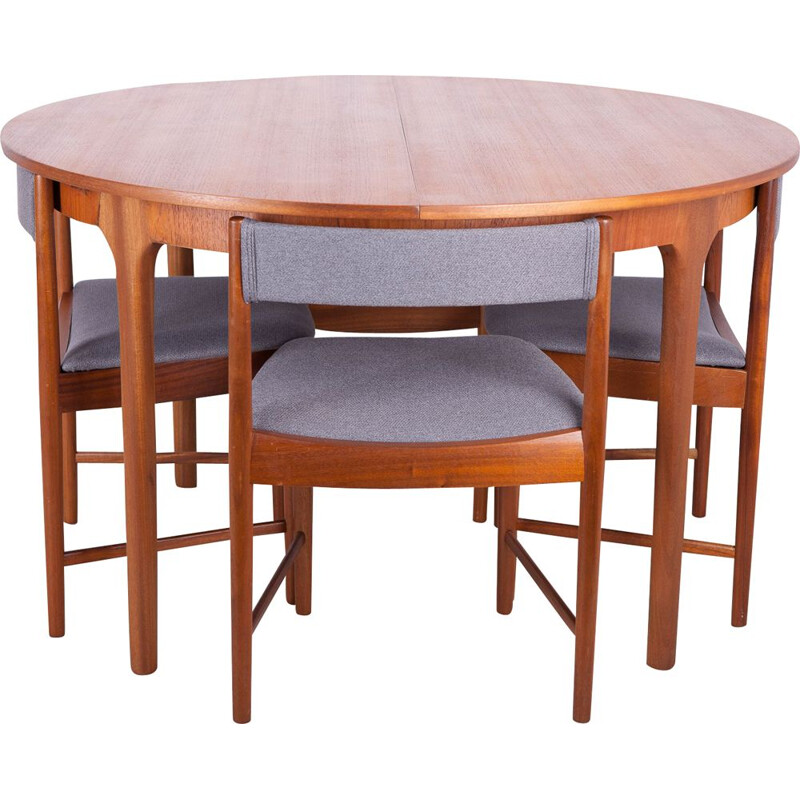 Teak vintage dining set from McIntosh, 1960s