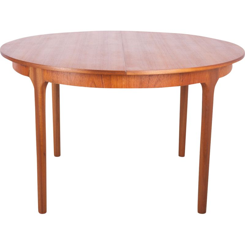 McIntosh Vintage Round and Extending Dining Table, 1960s