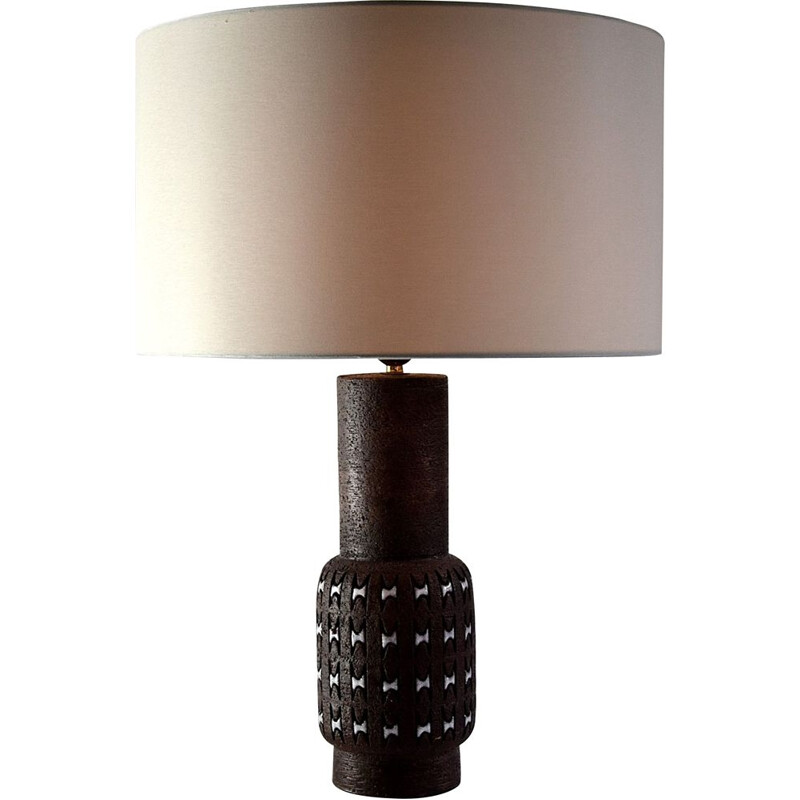Bitossi ceramic vintage table lamp by Aldo Londi