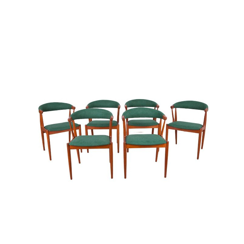 Set of 6 vintage dining chairs by Johannes Andersen for Broderna Anderssons, 1963