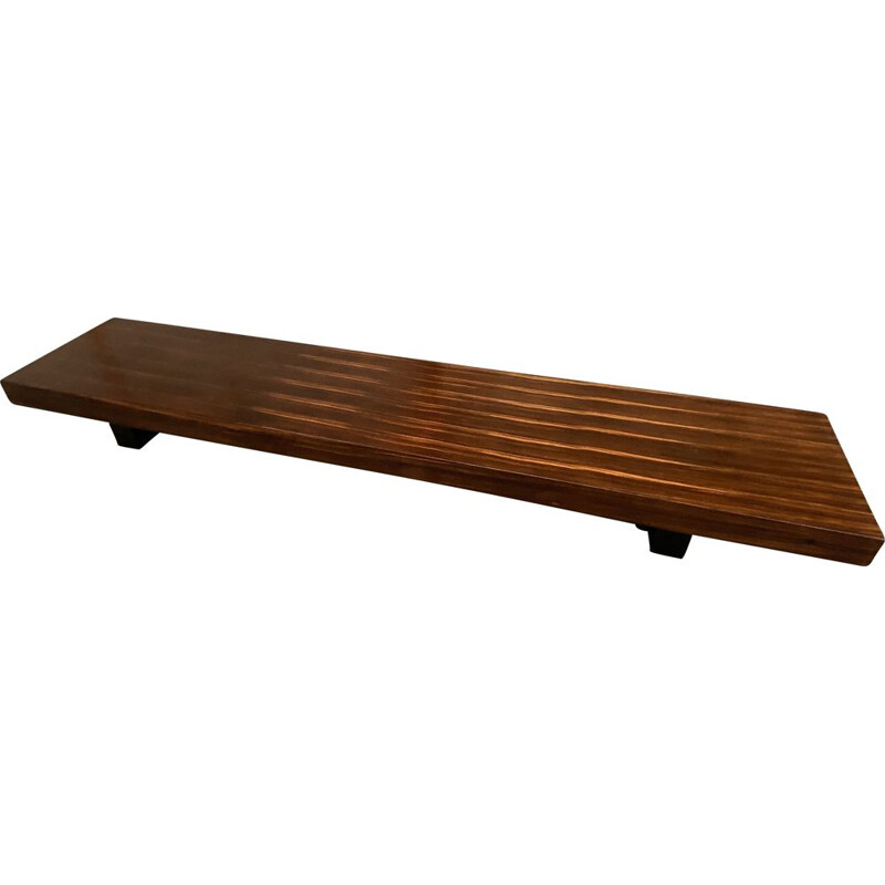Vintage rosewood coffee table by Poul Cadovius