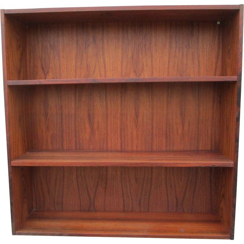 Rosewood vintage bookcase, 1960s