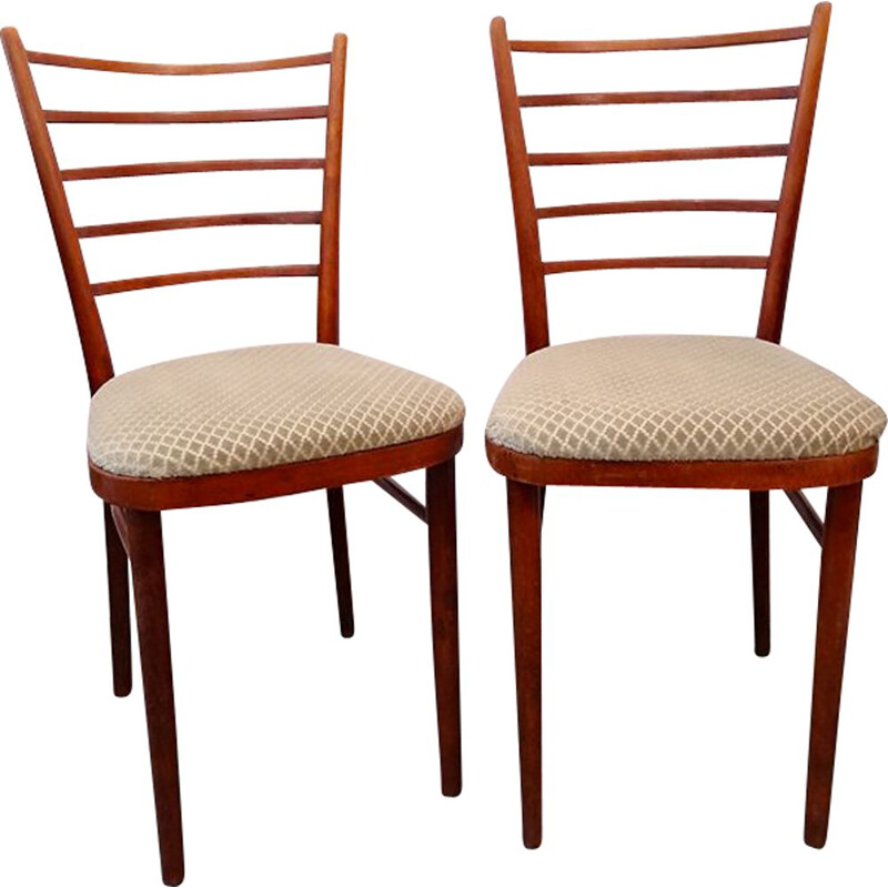 Pair of Scandinavian vintage chairs, 1960