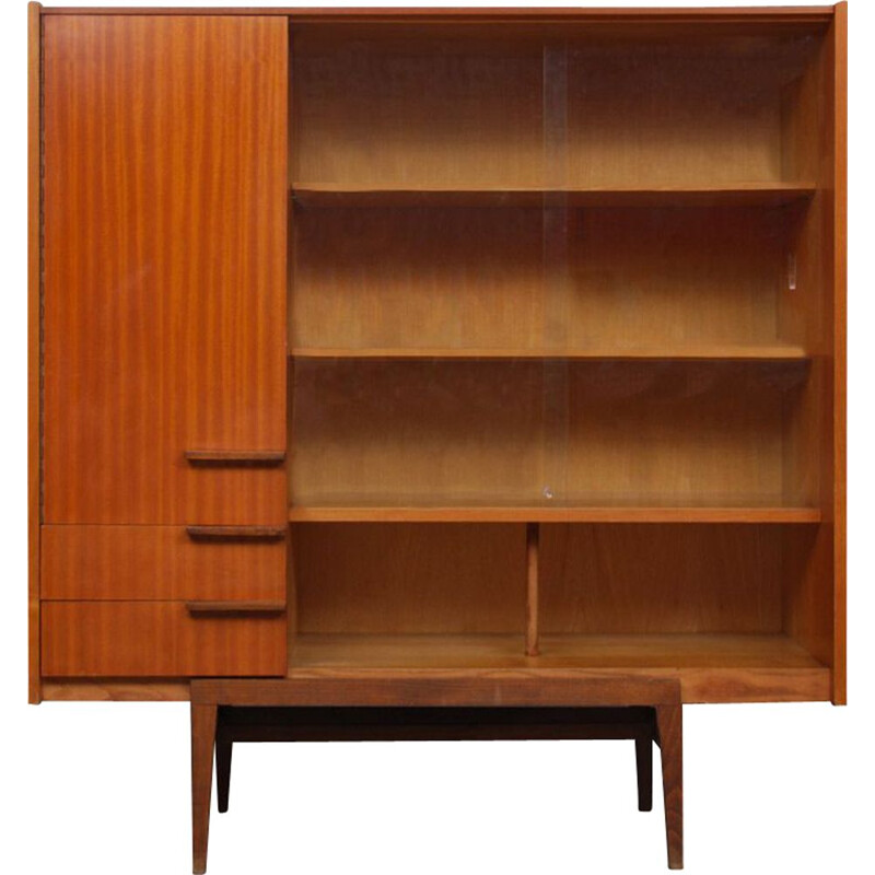 Bookcase by Frantisek Mezulanik for UP Zavody, 1960