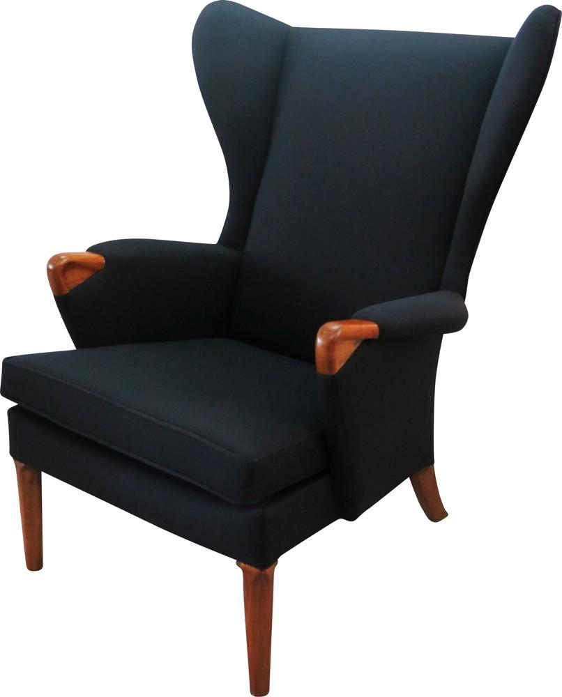Vintage Parker Knoll wingback armchair - 1960s - Design Market