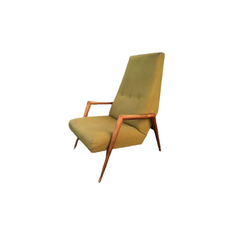 Vintage Triennale chair by Rob Parry for Gelderland, 1950s