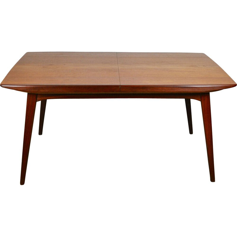 Vintage Extendable Dining Table by Louis van Teeffelen for WéBé, 1960s