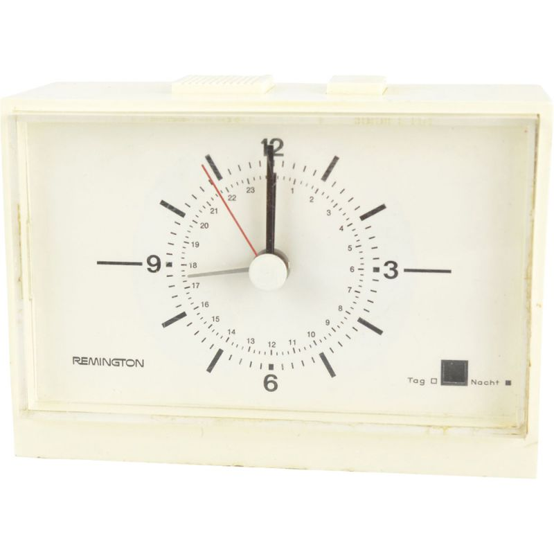 Vintage Electric clock by Remington, Germany, 1970s