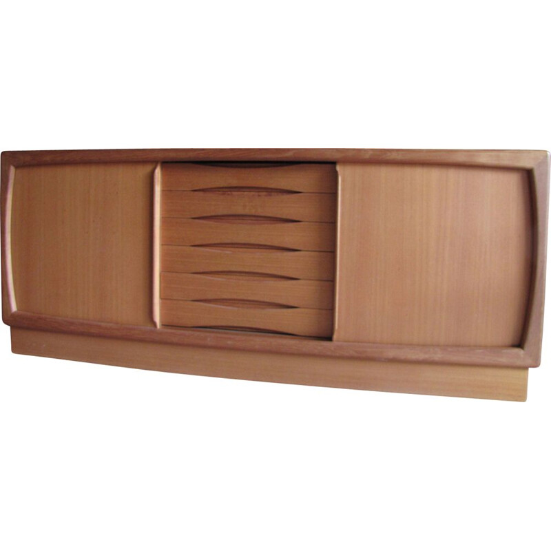 Vintage sideboard in teak from HP Hansen, Denmark