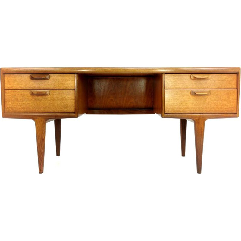 Vintage Teak Writing Desk, UK, 1960-70s