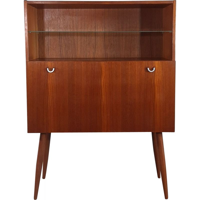 Vintage teak chest of drawers by AEJM Mobler, 1960s