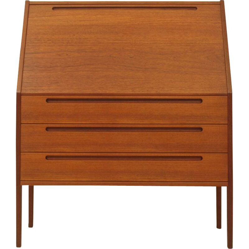 Vintage Teak Secretary Model 63 by Kai Kristiansen for Tørring Møbelfabrik, 1960s