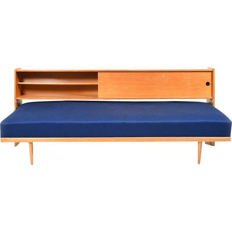 Vintage Daybed with Storage Compartment, 1950s