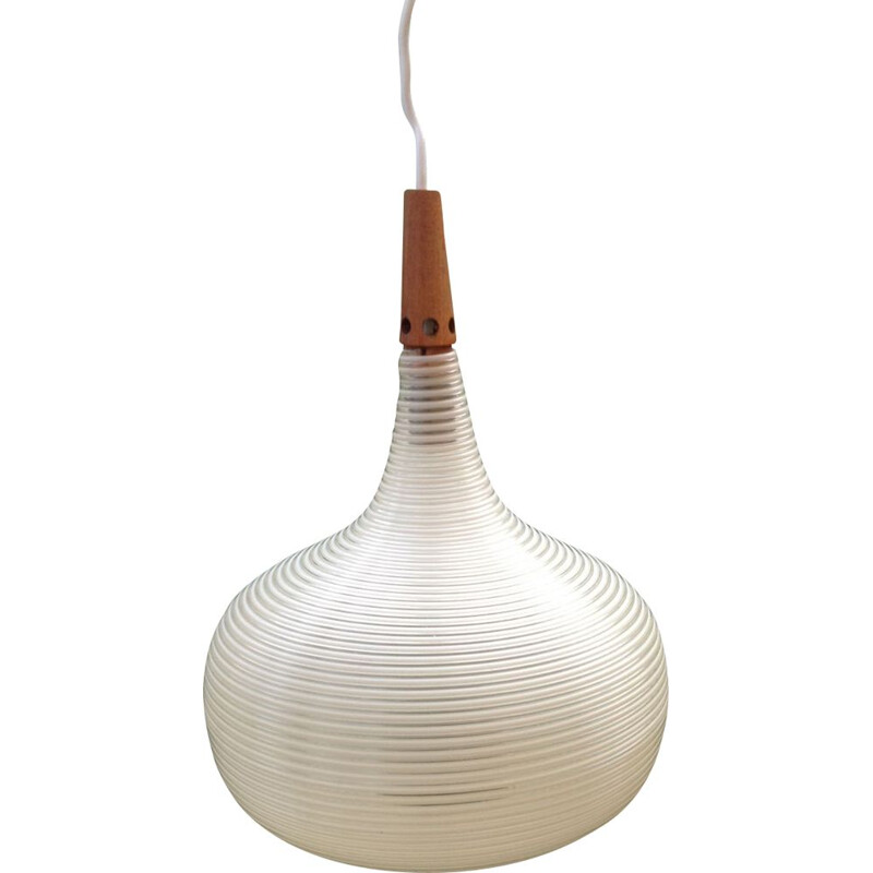 Vintage pendant light by John and Sylvia Reid for Rotaflex, 1963s