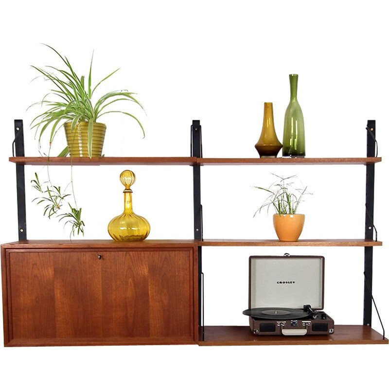 Royal wall unit system, Poul CADOVIUS - 1960s