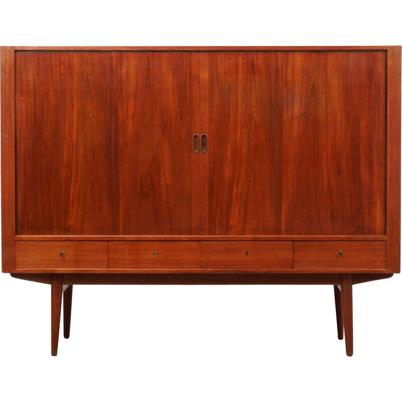 Vintage teak sideboard model 54 by Arne Vodder