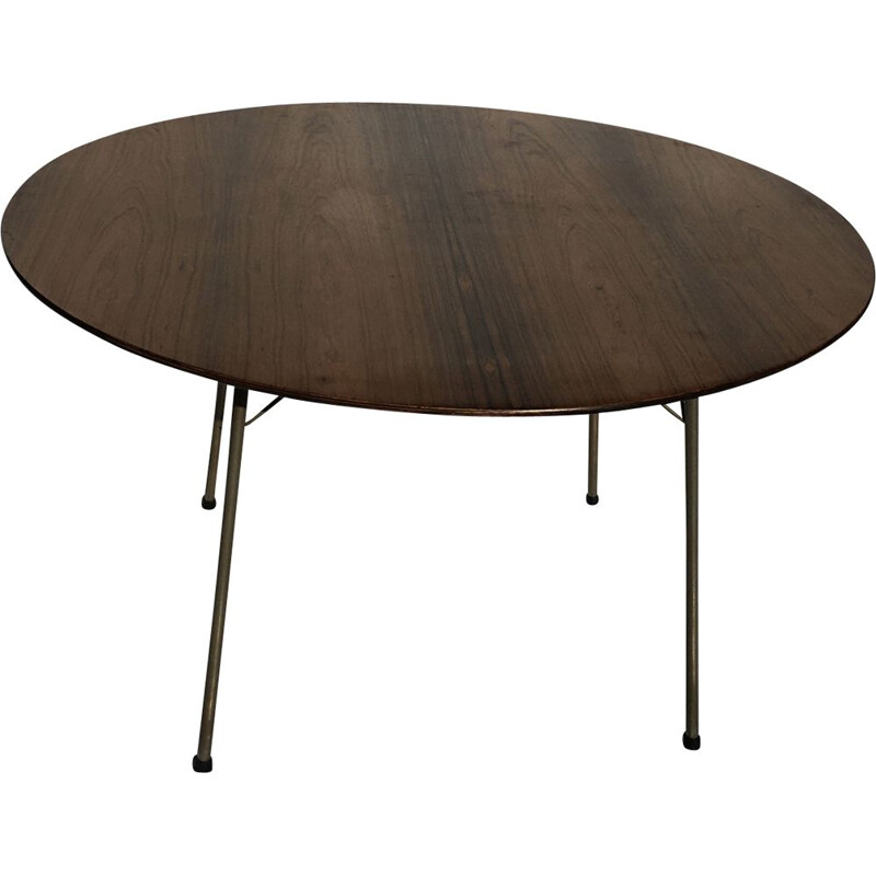 Vintage rosewood table by Arne Jacobsen