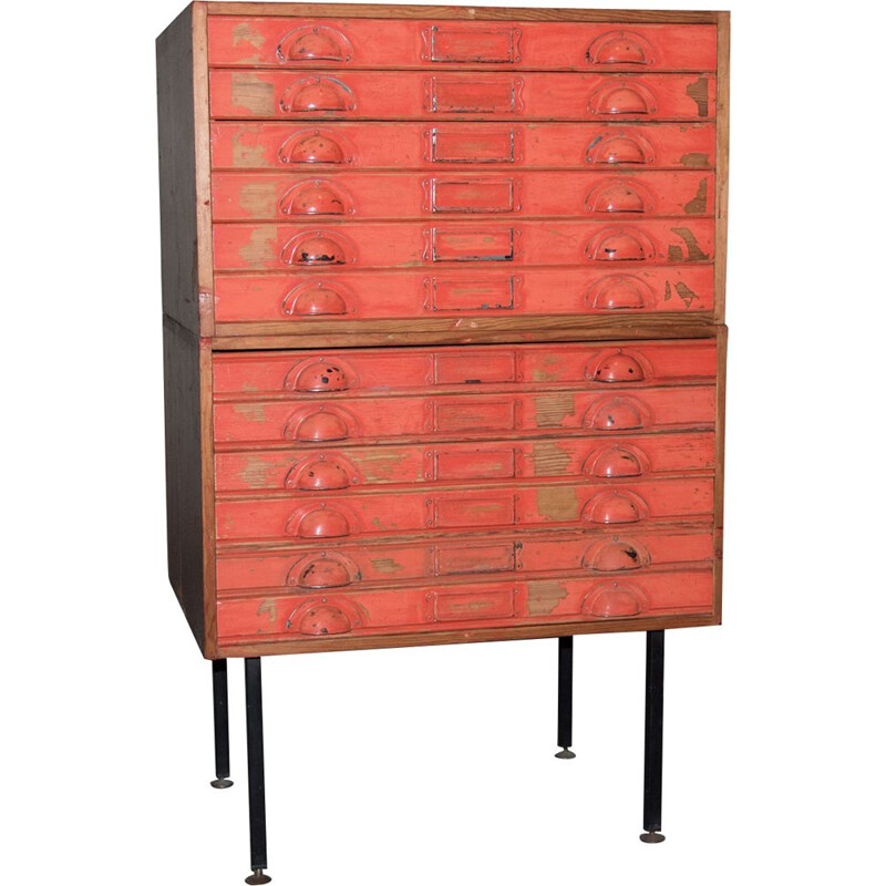 Vintage chest of drawers, 1950