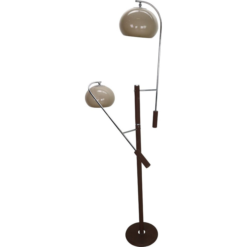 Vintage adjustable floor lamp by Dijkstra, 1970s