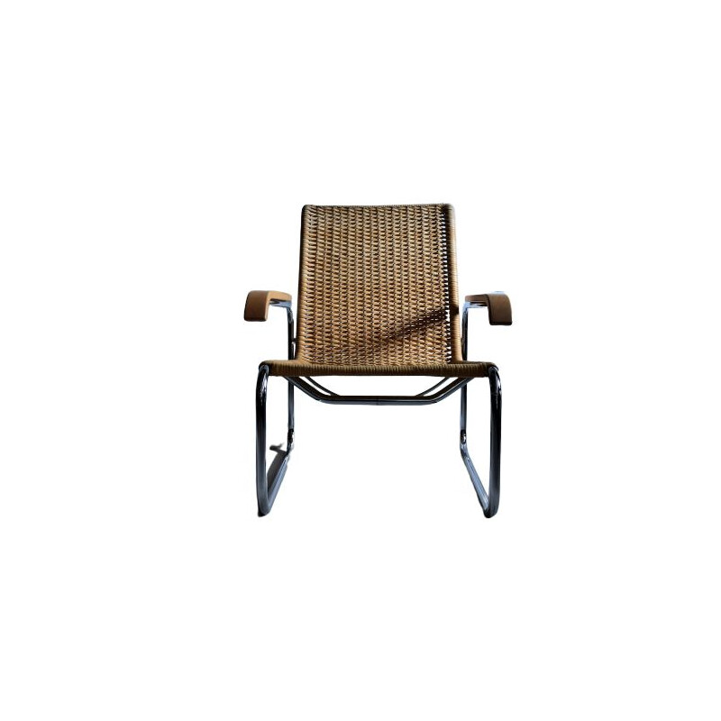 Vintage S35 Bauhaus Club Chair by Marcel Breuer for Thonet