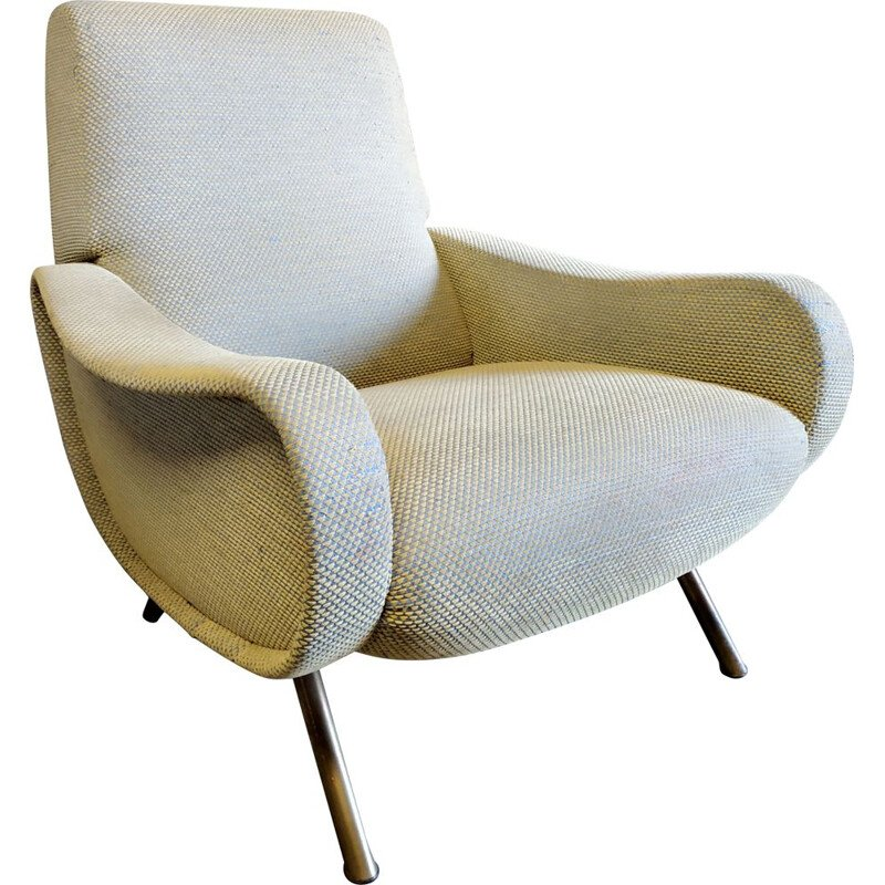 Vintage Lady armchair by Marco Zanuso, 1950s