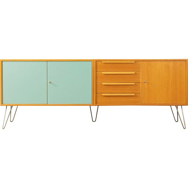 Vintage oak Sideboard by WK Möbel, Germany, 1960s