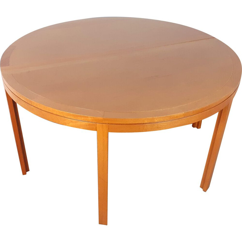 Vintage table by Christian Hvidt for Søborg, Denmark, 1950s