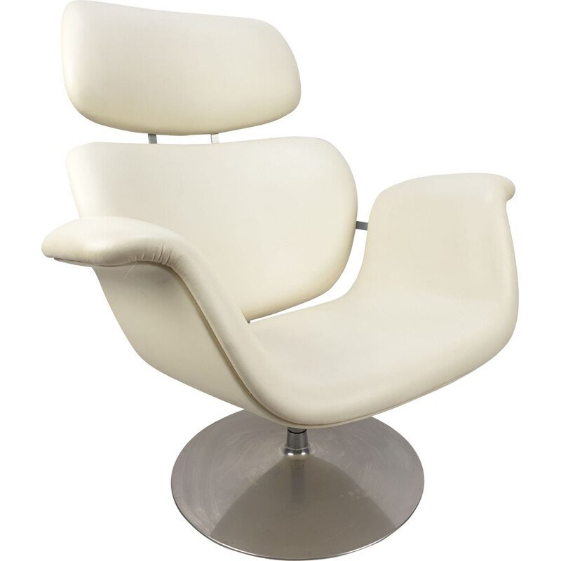 Vintage Tulip armchair by Pierre Paulin for Artifort, 1980s