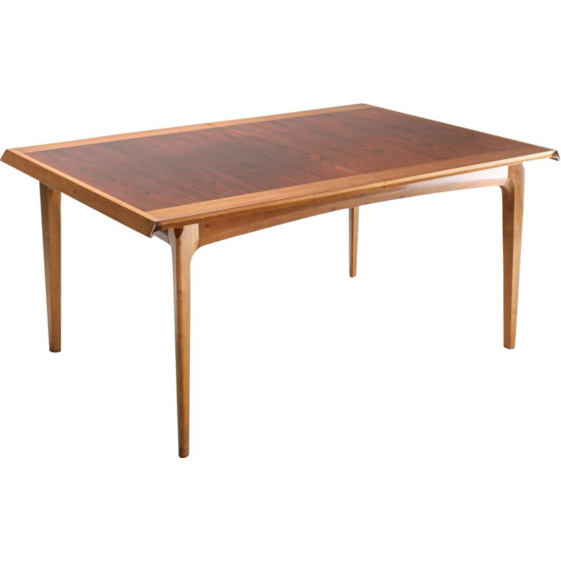 Vintage Madison extendable dining table by De Coene, 1960s