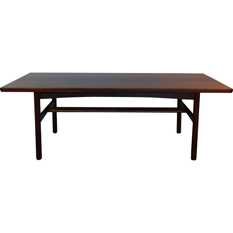 Vintage rosewood coffee table by Gannsfjord, 1960s