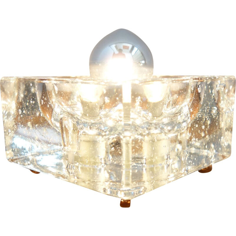 Ice cube vintage wall lamp by Wila Munchen