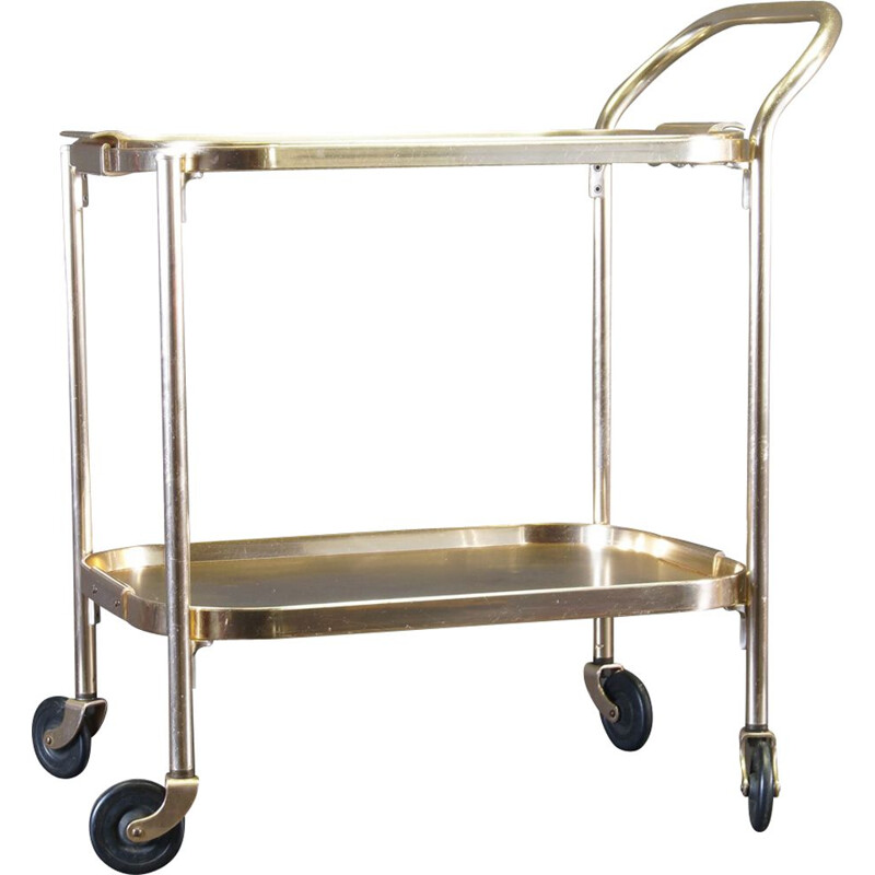 Vintage tea serving trolley by Kaymet