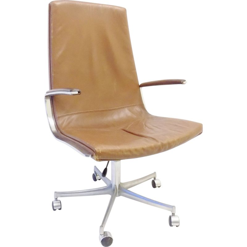 Vintage Walter Knoll office desk chair by Bernd Münzebrock