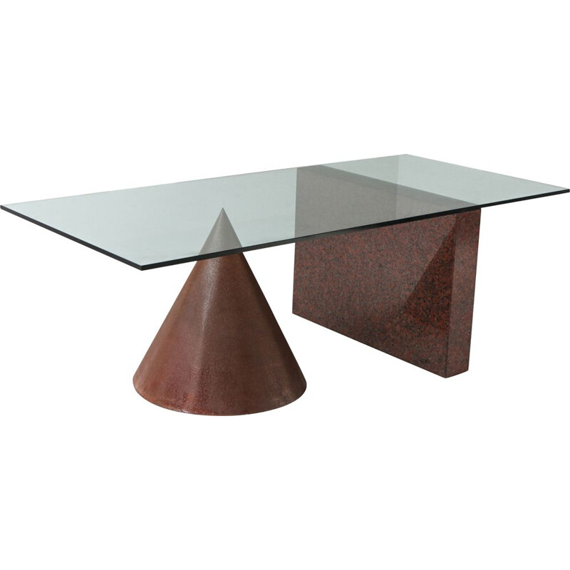 Vintage Kono Dining Table by Lella & Massimo Vignelli for Casigliani 1980