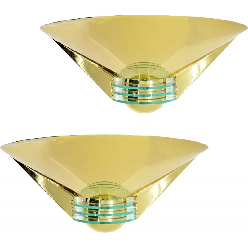 Vintage pair of wall lamps HL-46306 by Deco Leuchten, Germany, 1980s