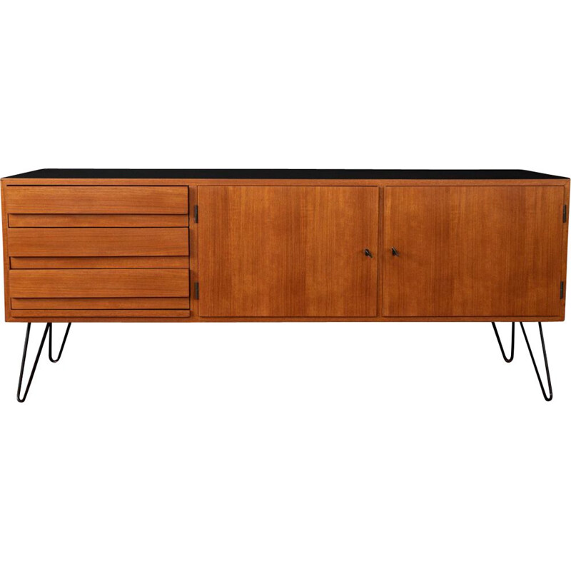 Vintage Sideboard in teak and fornica top, Germany